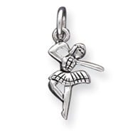 Picture of Sterling Silver Antique Ballerina Charm