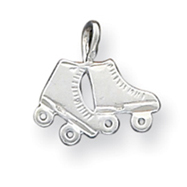 Picture of Sterling Silver Roller Skates Pendant