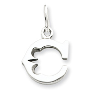Picture of Sterling Silver Initial C Pendant