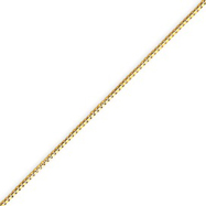 Picture of 14K Gold 0.84mm Box Chain