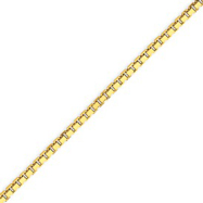 Picture of 14K Gold 2.5mm Box Chain