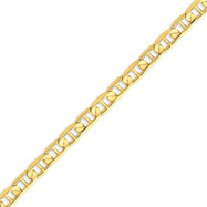 Picture of 14K Gold 6.25mm Concave Anchor Bracelet