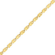 Picture of 14K Yellow Gold 4mm Marquise Bracelet